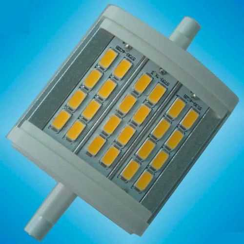 Bombilla LED Lineal R7S 78mm 8W