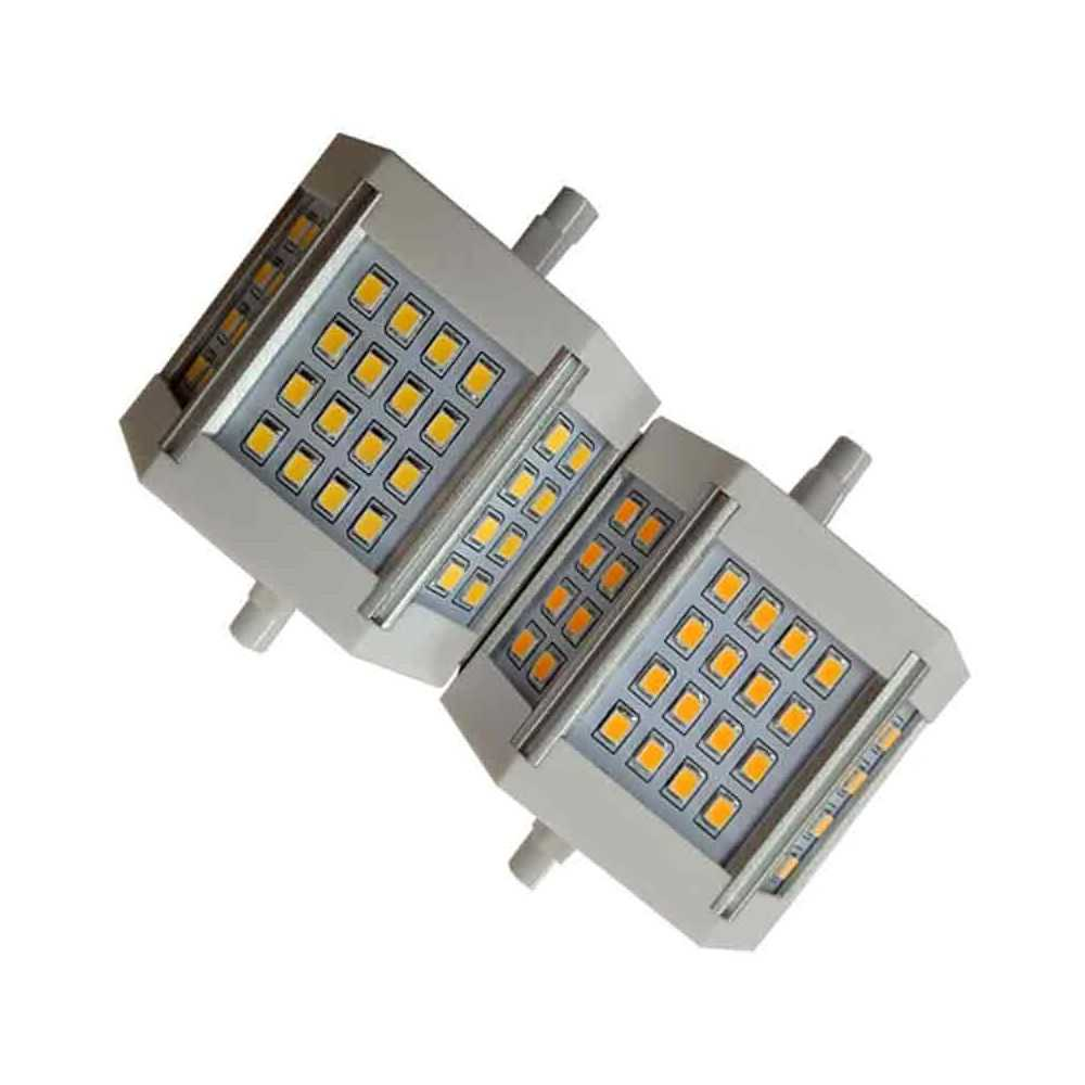 10W lineal Bombilla LED R7S 78mm Regulable uTK1cFJ35l