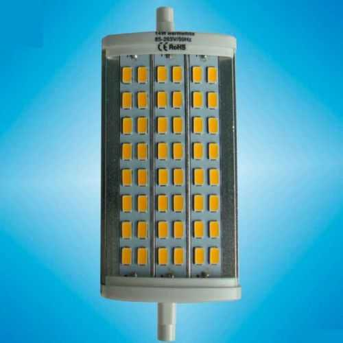 Bombilla LED Lineal R7S 14W Regulable 118mm