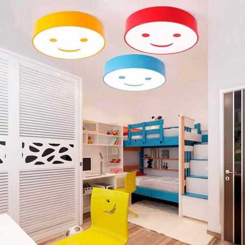 Plafón LED 24W Infantil Sonrisas