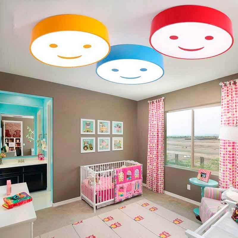 Plafón LED 36W Infantil Sonrisas