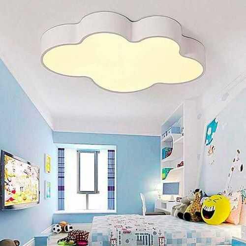 Plafón LED 24W Infantil Nube Blanca