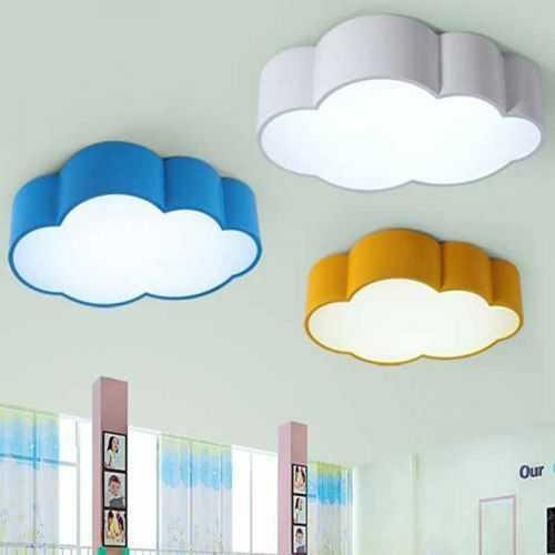 Plafón LED 32W Infantil Nube Blanca