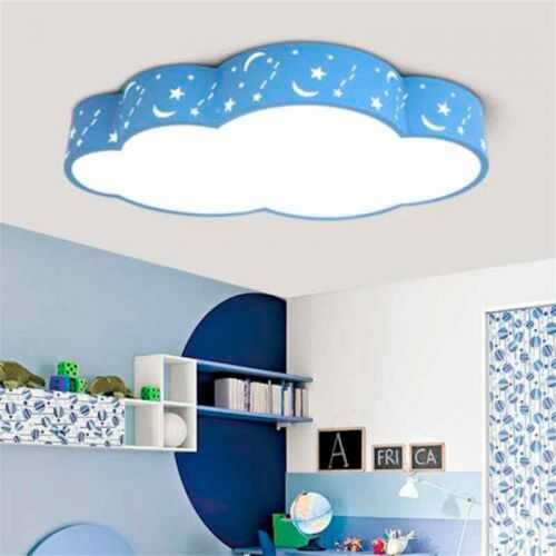 Plafón LED 24W Infantil Nube Azul