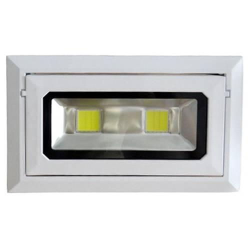 Foco Basculante Rectangular LED COB 40W 230V