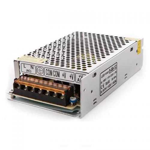 Fuente alimentación profesional 80W 12V Tiras LED