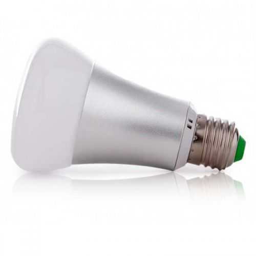 Bombilla LED RGB E27 10W+ 6000K Mando a distancia