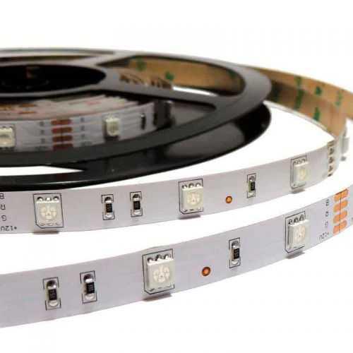 Tira LED SMD 5050 RGB 7,2 W/m 12V IP20 5 metros