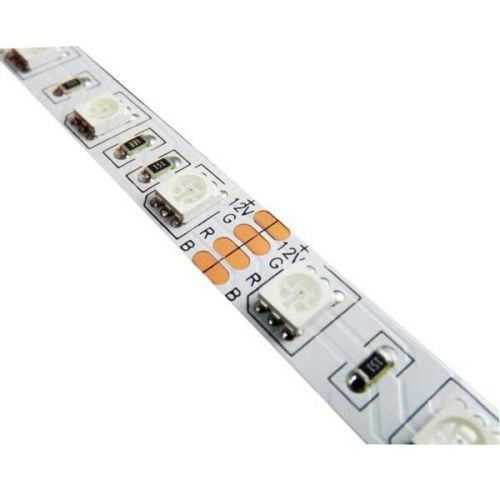 Tira LED SMD 5050 RGB 14,4 W/m 12V IP20 1 metro