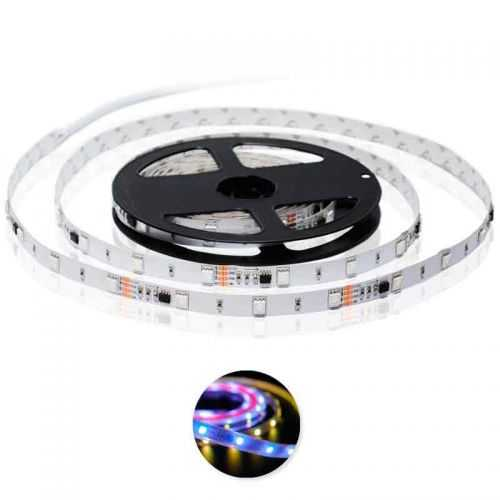 Tira LED Digital SMD 5050 RGB 7,2 W/m 12V IP20 5 metros