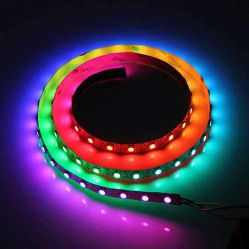 Tira LED Digital SMD 5050 RGB 14,4 W/m 12V IP20 5 metros