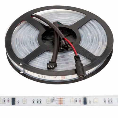 Tira LED Digital SMD 5050 RGB 7,2 W/m 12V IP68 5 metros Sumergible