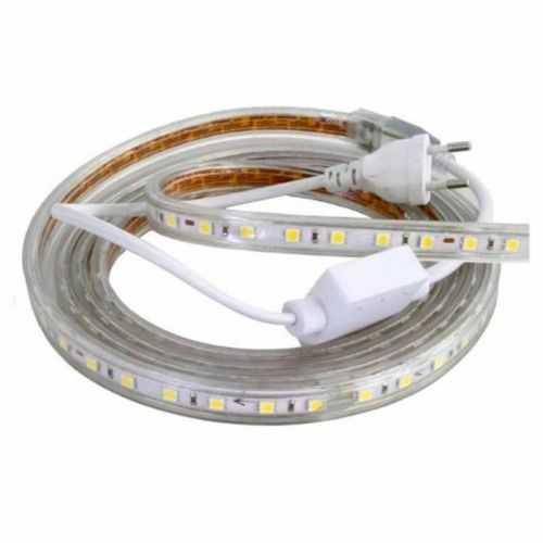 Tira LED SMD 5050 11 W/m 230V IP67 1 metro