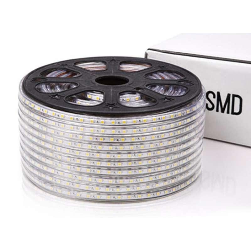 Rollo 50 metros Tira LED SMD 5050 11 W/m 230V IP67