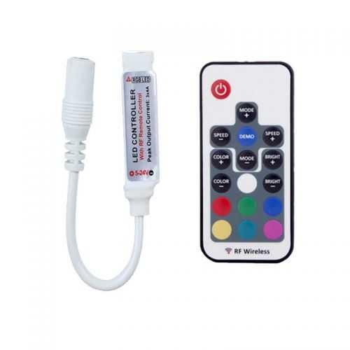 Controlador MINI RGB Radiofrecuencia