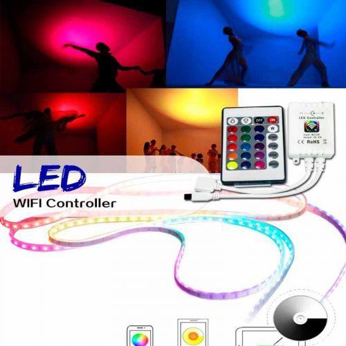 Controlador Mini RGB WIFI 144W