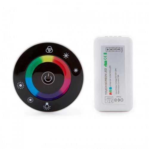 Controlador RGB Radio-Frecuencia Tactil 216W