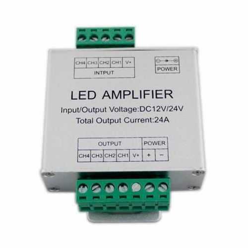 Amplificador Controlador RGBW 288W 12-24V