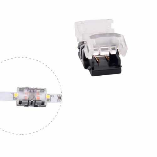 Conector Tiras LED Empalme 10mm IP65 - Tira/Tira