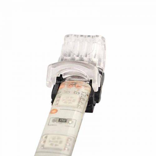 Conector Tiras LED Empalme RGB 10mm IP65 - Tira/Tira