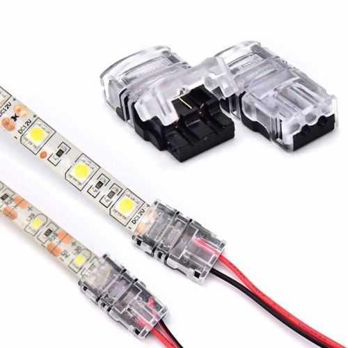 Conector Tiras LED Empalme 8mm IP65 - Tira/Cable