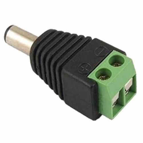 Conector DC Macho tiras LED