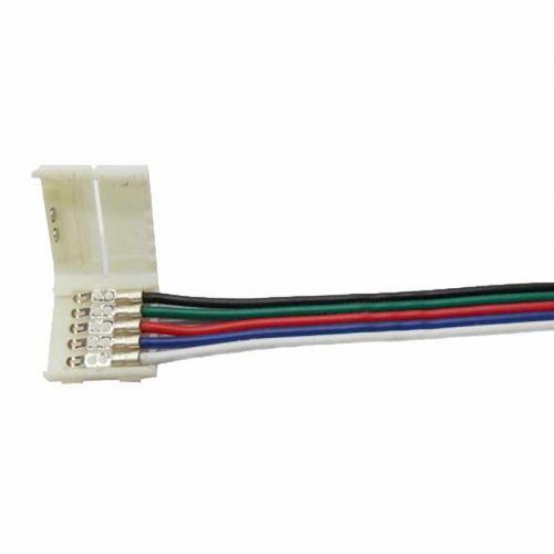 Conector inicio Tiras LED RGBW 12mm