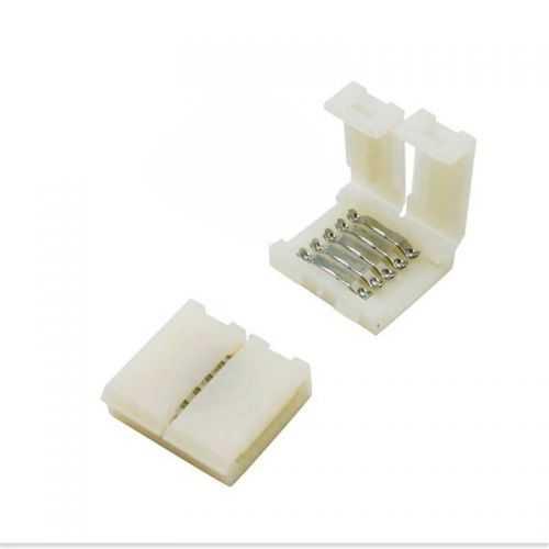 Conector Tiras LED Empalme RGBW 12mm