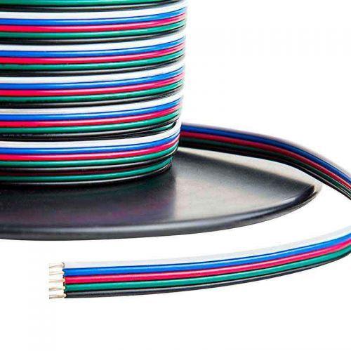 Cable Tira LED RGBW 10 Metros