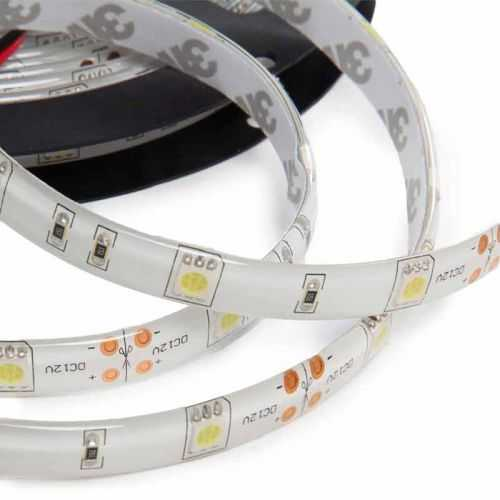 Tira LED SMD 5050 7,2 W/m 12V IP65 1 metro