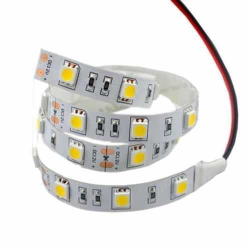 Tira LED SMD 5050 14,4 W/m 12V IP20 1 metro