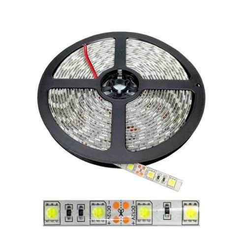 Tira LED SMD 5050 14,4 W/m 12V IP65 5 metros