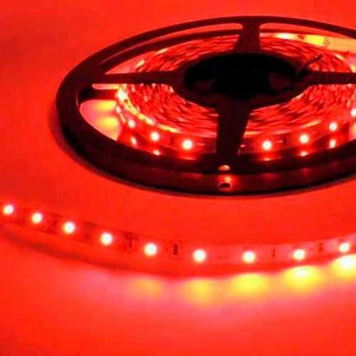 Tira LED Roja 14,4 W/m 12V IP20 5 metros
