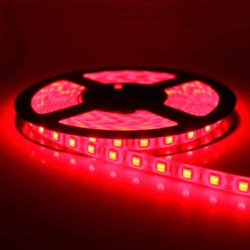 Tira LED Roja 14,4 W/m 12V IP65 5 metros