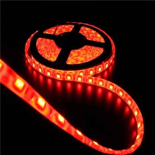 Tira LED Roja 14,4 W/m 12V IP65 1 metro