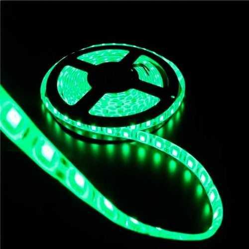 Tira LED Verde 14,4 W/m 12V IP65 5 metros
