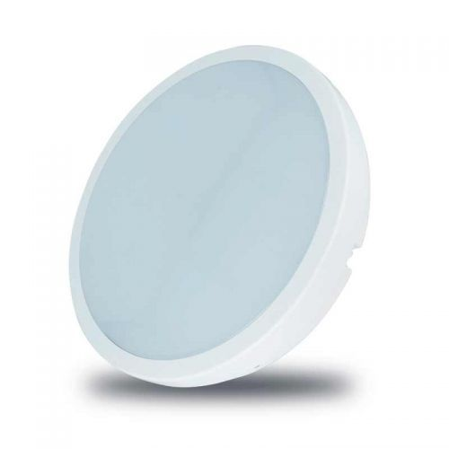 Plafón LED superficie Redondo IP54 18W Detector Encendido Microondas