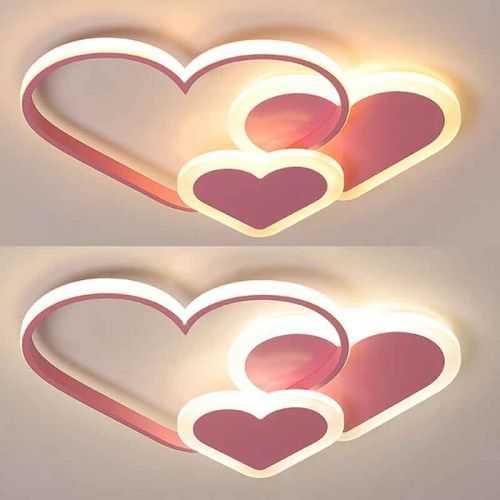 Plafón LED 50W Infantil Corazones