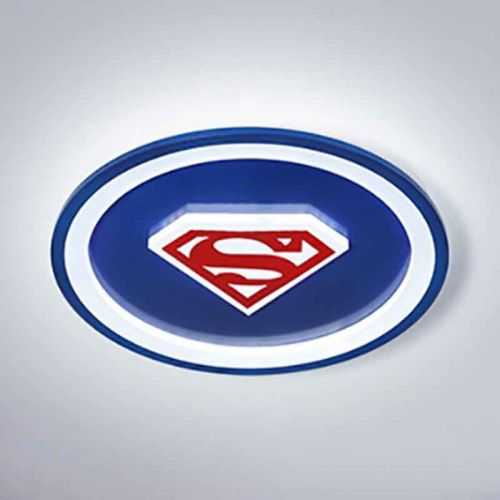 Plafón LED 50W Infantil Superman