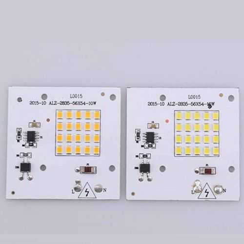 Repuesto LED SMD Cuadrado 10W 230V