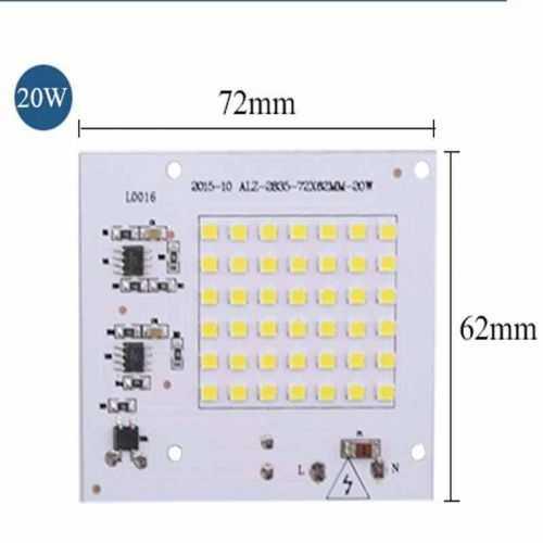 Repuesto LED SMD Cuadrado 20W 230V