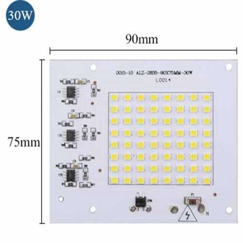 Repuesto LED SMD Cuadrado 30W 230V