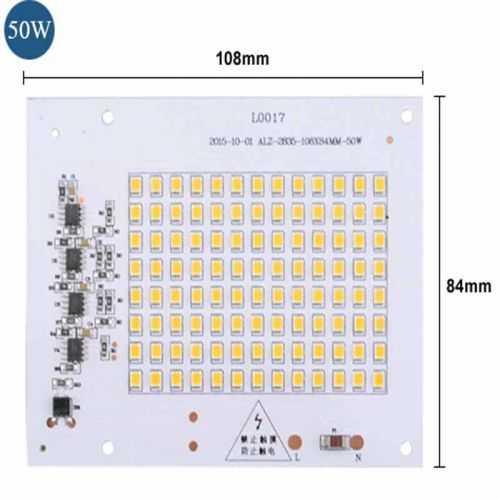 Repuesto LED SMD Cuadrado 50W 230V