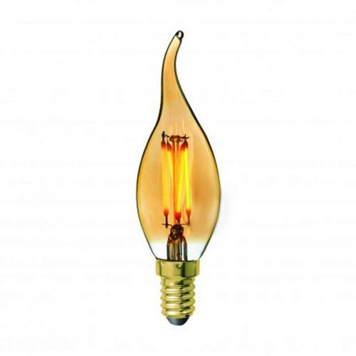 Bombilla LED Vela Vintage E14 4W