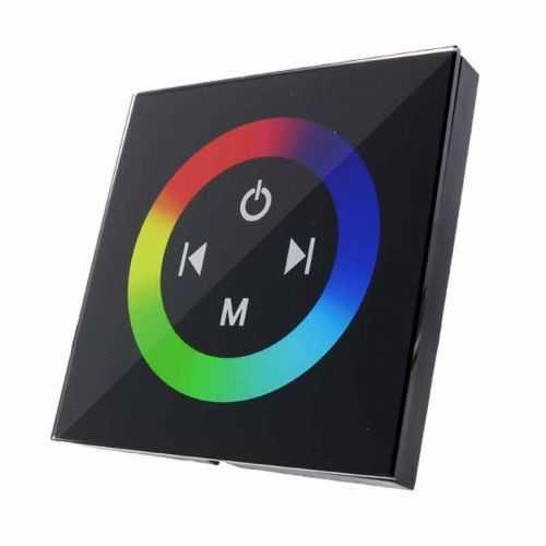Controlador RGB Empotrable Tactil 12-24V