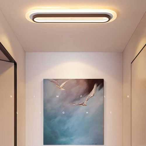 Plafón LED 35W Rectangular Metacrilato 3 Colores