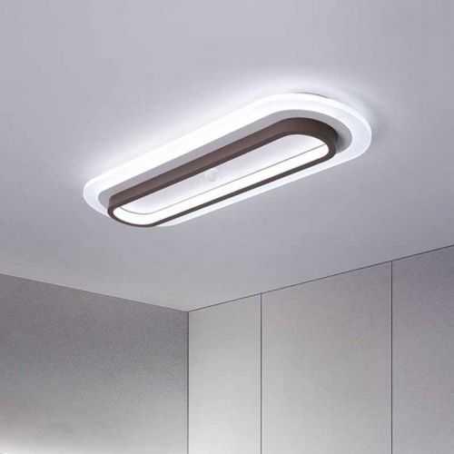 Plafón LED 35W Rectangular Metacrilato 3 Colores