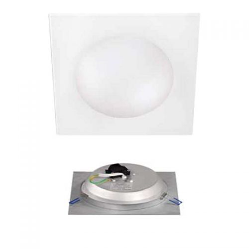 Downlight Cristal Blanco SMD 18W 230V