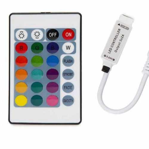 Controlador MINI RGB Infrarrojos 5Vdc USB