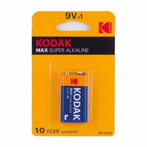 Blíster 1 Pila Alcalina Kodac 6LR61 9V